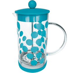 French press do kawy Dot Dot 1 Litr ZAK Designs turkusowy 1783-880