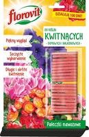 Florovit, pałeczki nawozowe do roślin kwitnących, 20 sztuk