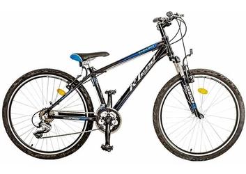 Rower rland mtb 26 enduro 15 czarno-niebieski