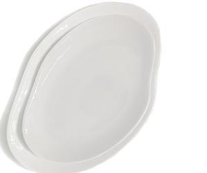 Talerze Craft 2 szt. białe