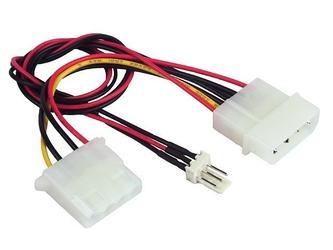 Gembird kabel rozdzielacz zasilania 2xmolex1x3pin wenty