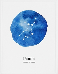 Plakat Zodiak Panna 70 x 100 cm