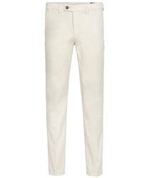 Białe spodnie męskie typu chino  3534