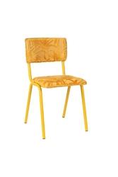 Zuiver krzesło back to miami sunset yellow 1100414