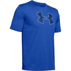 Koszuka męska under armour big logo ss - niebieski