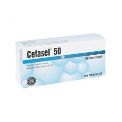 Cefasel 50 myg tabl.