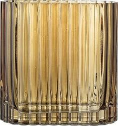 Wazon bloomingville szklany brązowy 18 cm