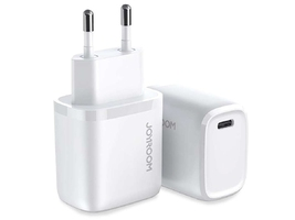 Ładowarka sieciowa joyroom intelligent fast charger usb-c pd 20w white