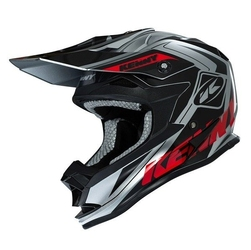Kenny kask performance grey-red