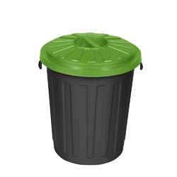 Kosz na śmieci do segregacji keeeper mats 23 l zielony