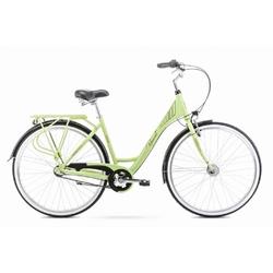 Rower miejski romet moderne 3 2020, kolor limonkowy-zielony, rozmiar 19