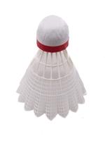 Lotki do badmintona vivo nylon białe 6szt red-fast speed c-500