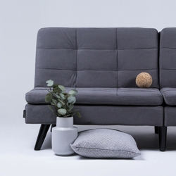 Sofa rozkładana revo, ciemnoszara
