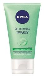 Nivea oczyszczający żel do mycia twarzy cera tłusta i mieszana, 150ml