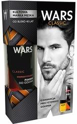 Wars, Classic, zestaw pianka do golenia + płyn po goleniu