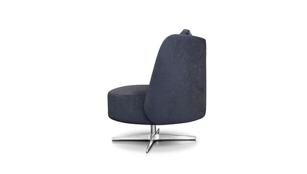 Nobonobo :: fotel tapicerowany pyora i szary