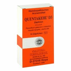 Quentakehl D3 w czopkach
