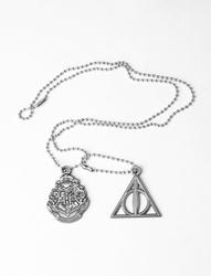 Harry Potter Crest and Hallows - nieśmiertelnik