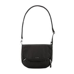 Mała torebka damska antykradzieżowa pacsafe stylesafe crossbody czarny - czarny
