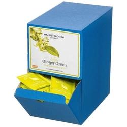 Hampstead | ginger green - herbata zielona z imbirem saszetki 250szt. | organic - fair trade
