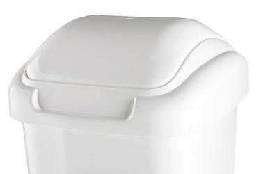 Plafor kosz uchylny standard 30 l biały