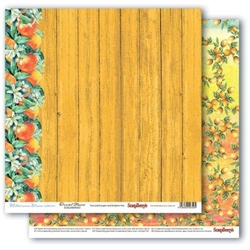 Papier 30x30cm MEDITERRANEAN DREAMS-Oriental Flowe - 02