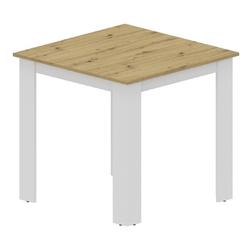 Stół do jadalni Peano 80x80 białydąb artisan nowoczesny