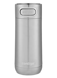 Kubek termiczny contigo luxe 360ml - stainless steel - srebrny
