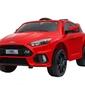 Ford focus rs czerwony samochód na akumulator + pilot