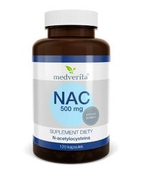 NAC N-acetylocysteina 250 mg - 120 kapsułek