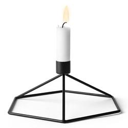 Świecznik stołowy czarny pov menu