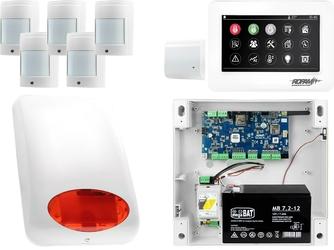 Neogsm-ip aero system alarmowy 5x czujka bezprzewodowa powiadomienie gsm wifi zestaw