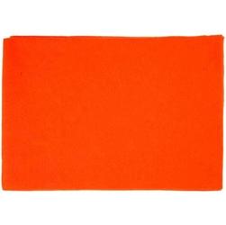 Dekoracyjny filc A4 - pomarańczowy - POM