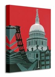St Pauls Cathedral - Obraz na płótnie