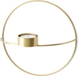Świecznik POV na tealight 20 cm mosiądz