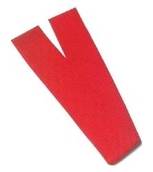 Szarfa gimnastyczna czerwona as07018