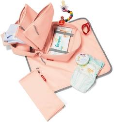 Torba na materiały do przewijania niemowlaków babycase reisenthel różowa rir3021