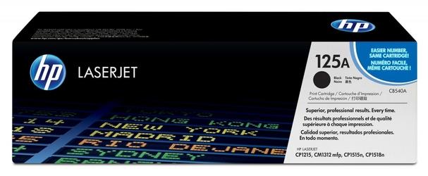 HP Toner CLJ CP1215 2.2k CB540A CZARNY