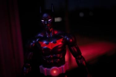 Batman przyszłości - ver2 - plakat wymiar do wyboru: 59,4x42 cm