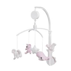 Babys Only, Karuzela grająca ze zwierzątkami, różowa