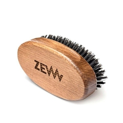 Zew duży bukowy kartacz do brody naturalne włosie dzika