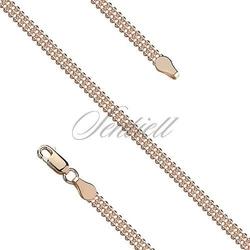 Bransoletka srebrna 925 bead laser 3fg