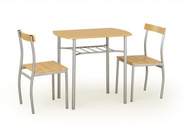 Stół do jadalni Lance + 2 krzesła olcha