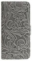 Holdit Etui walletcase iPhone 66S Plus skóra szareróżowe
