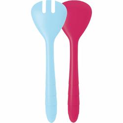 Łyżki do sałaty Zak Designs malinowo niebieskie 2172-0420