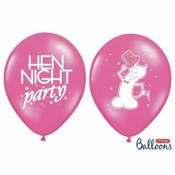 Balony - Hen Night Party - Różowe