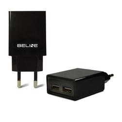 Beline ładowarka sieciowa 2xusb 2a czarna