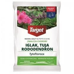 Ridomil gold mz pepite 67,8 wg – zwalcza choroby iglaków i tui – 15 g target