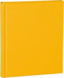 Album na zdjęcia uni classic średni żółty