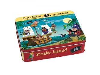 Piraci puzzle tekturowe 100 el.